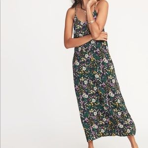 Old Navy Floral Maxi Dress— Size Small
